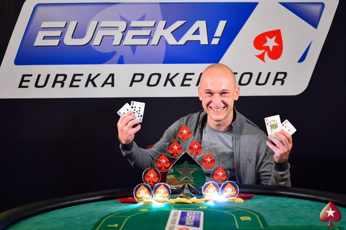 Ясен Дичев води по чипове след Ден 2 на Eureka Poker Tour... 101
