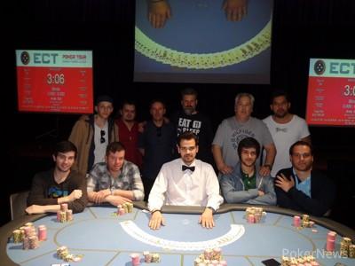 Paulo Baganha Vence Etapa #1 do ECT Poker Tour 101