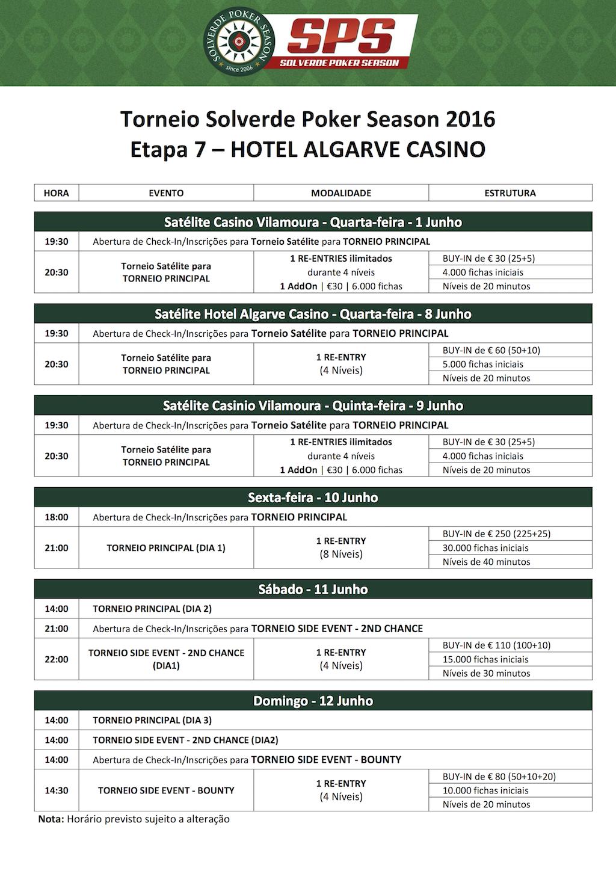 Etapa 7 Solverde Poker Season 2016: Satélites e Programação com Novidades 102