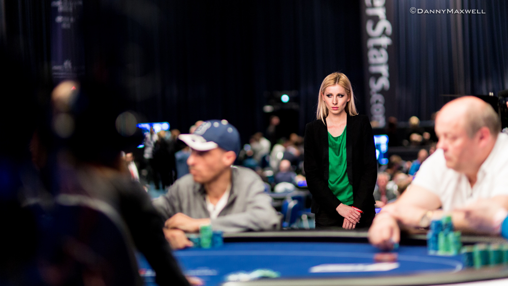 Behind the Scenes met European Poker Tour brush Kate Badurek 102
