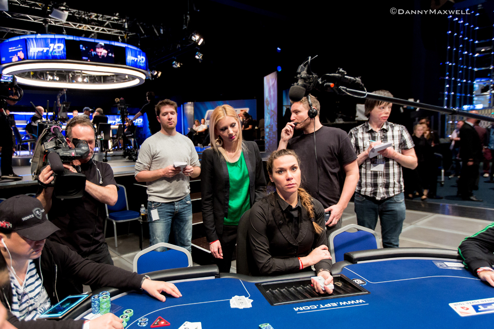 Behind the Scenes met European Poker Tour brush Kate Badurek 105