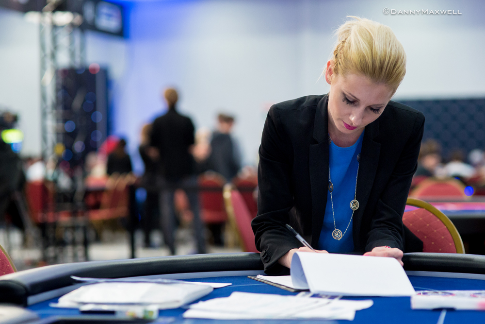 Behind the Scenes met European Poker Tour brush Kate Badurek 109