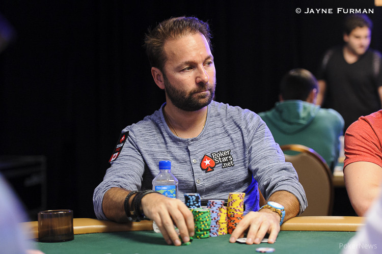 Daniel Negreanu at the World Series of Poker.