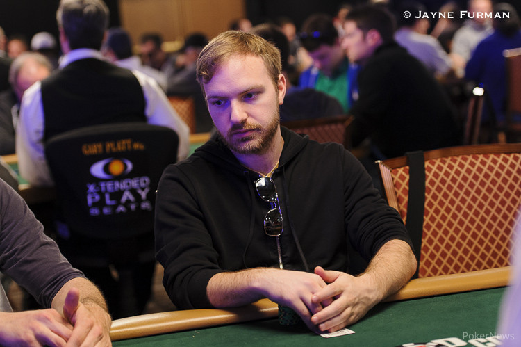 Mike Watson at the World Series of Poker.