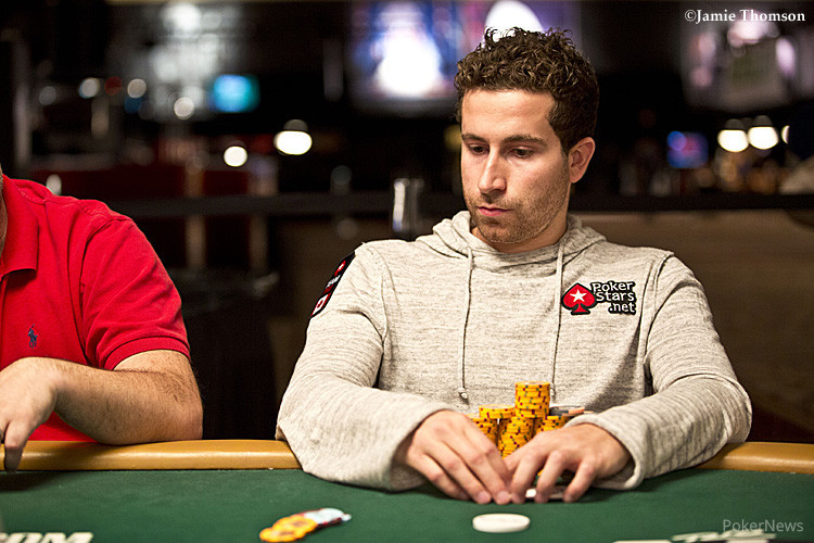 Jonathan Duhamel at the World Series of Poker.