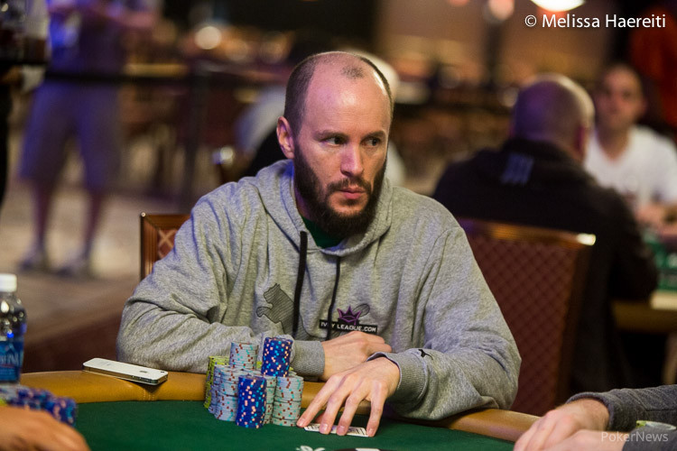 Mike Leah at the World Series of Poker.