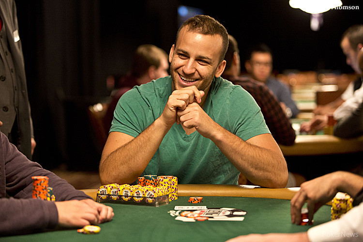 Sorel Mizzi at the World Series of Poker.