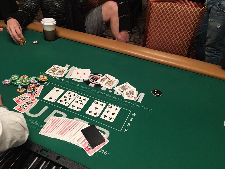 """""""World Series of Poker"""" čempionate - dvi neįtikėtinos partijos 101"""
