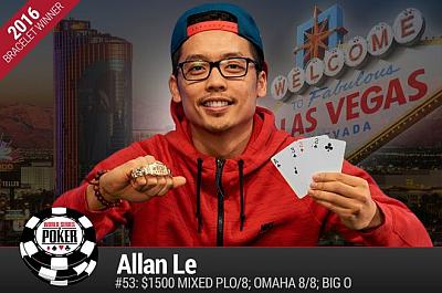 WSOP 2016: Narukvice Osvojili Allan Le i Andrew Lichtenberger 101