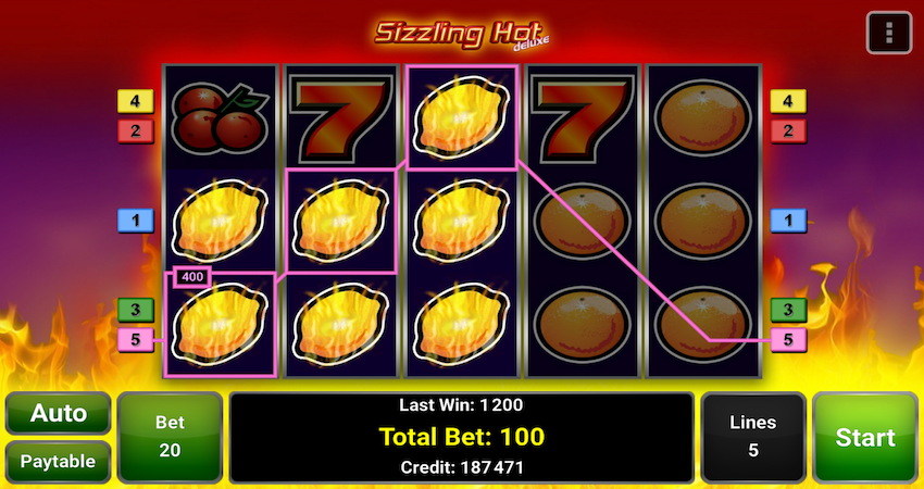 free online slots with bonus sizzling game
