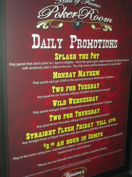 Five Poker Room Promotions, and How to Exploit Them 101