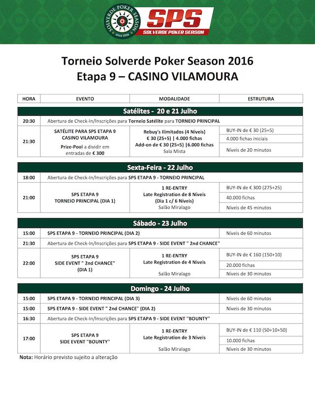 Etapa 9 Solverde Poker Season 2016: Satélites e Programação (20 a 24 de Julho) 101