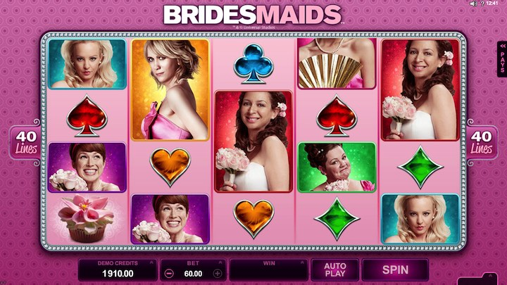 Bridesmaid online slots