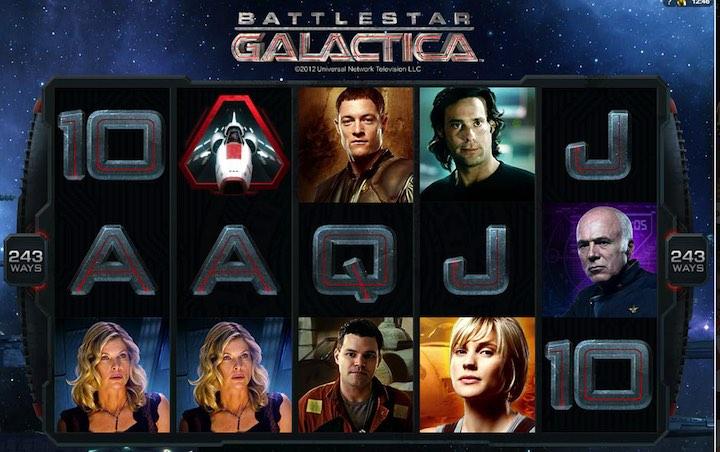 Battlestar Galactica online slots