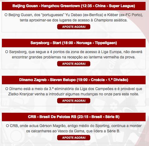 Futebol de Verão na Betclic: Reembolso nos jogos sem golos ao intervalo 101