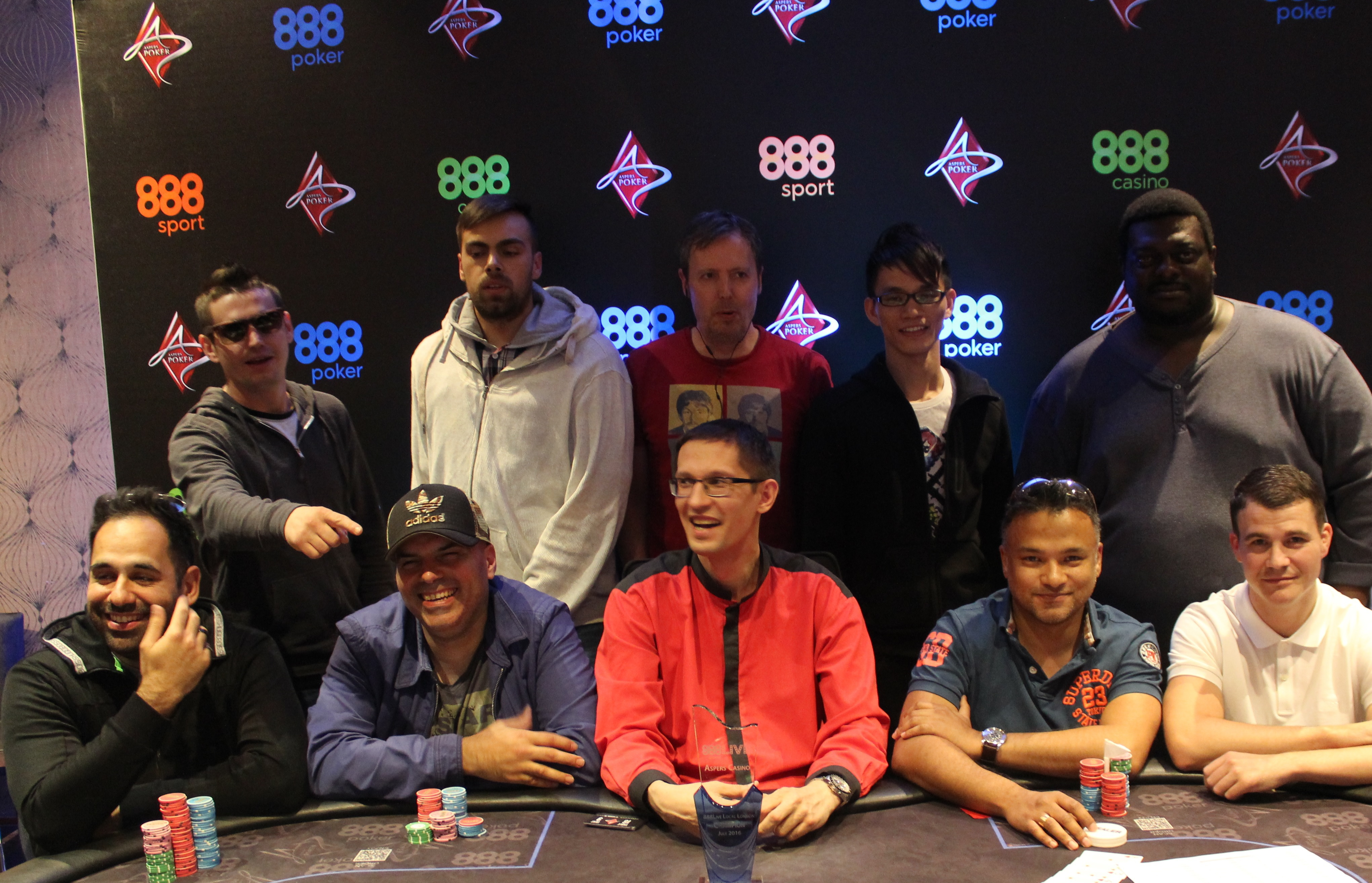 888Live London Final Table