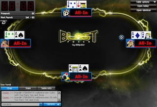 How to Win at 888poker's New BLAST Super-Turbo Game 102