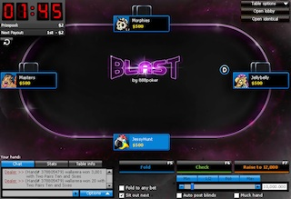 How to Win at 888poker's New BLAST Super-Turbo Game 101