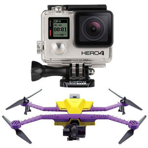 Fly high and record with the AirDog - The Action Sports Drone & GoPro Hero 4