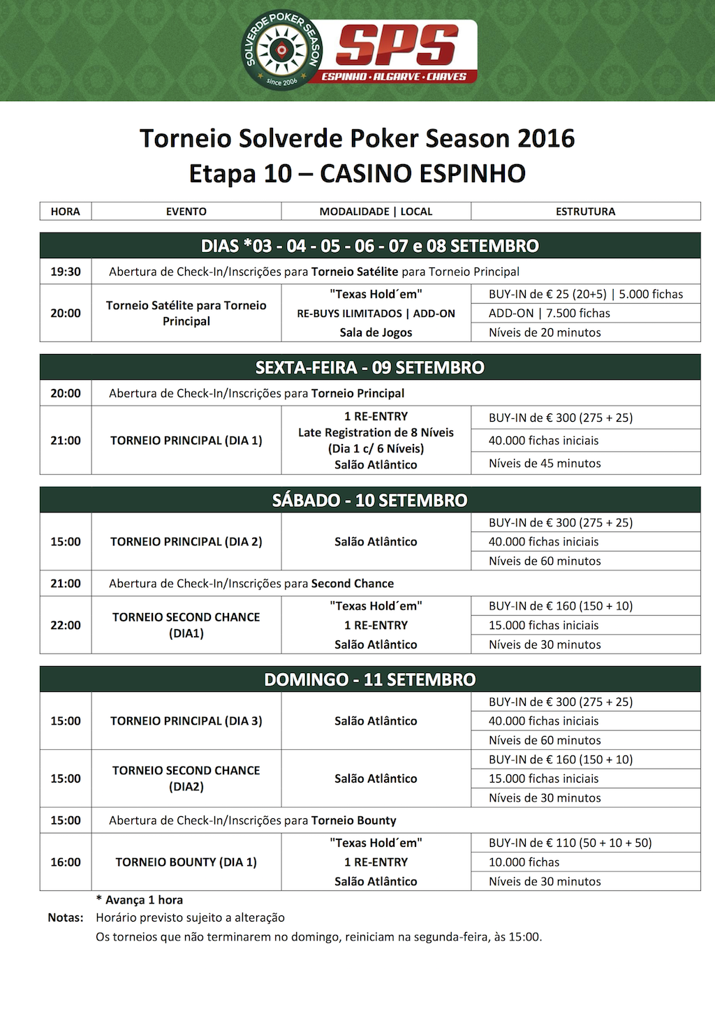 Etapa 10 Solverde Poker Season Arranca às 21:00 no Casino de Espinho (9 Set) 101