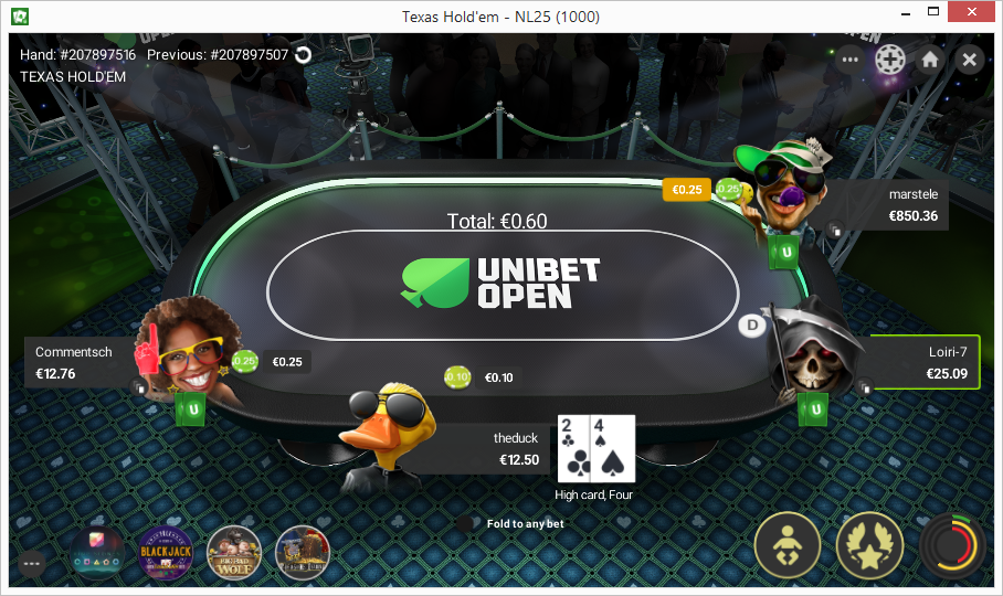 Unibet Starts Beta Testing Version 2.0 of Their Standalone Poker Client 102