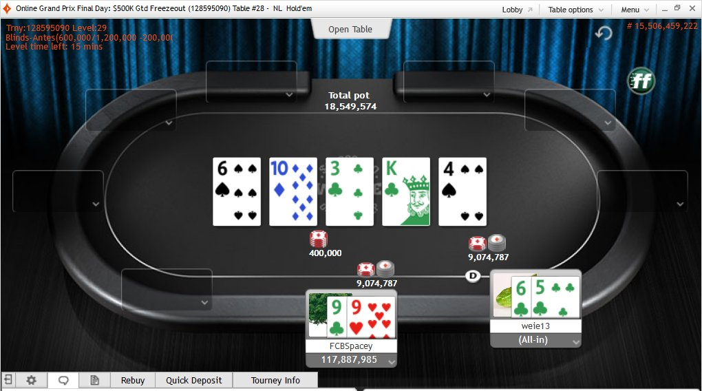 November Niner Kenny Hallaert Vence Partypoker Online Grand Prix Poker Tour (.891) 101