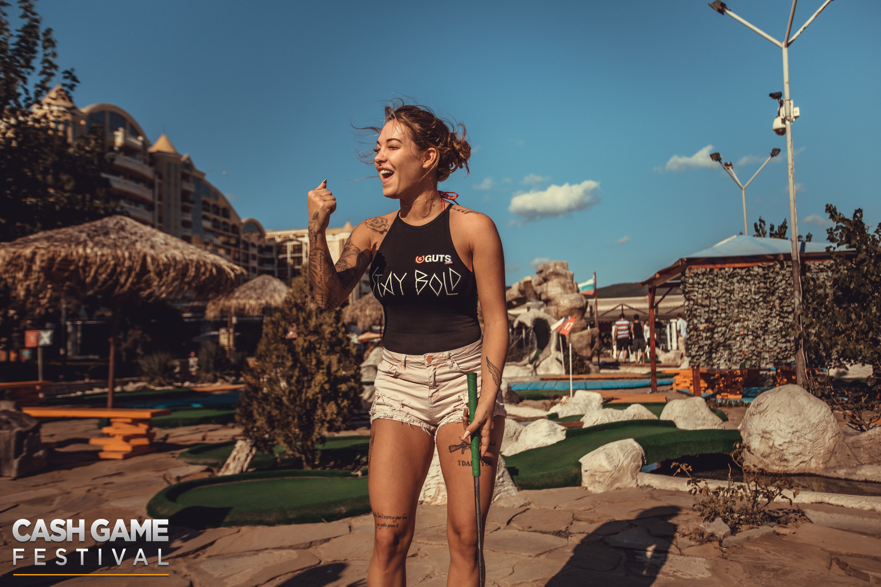 Cash Game Festival Bulgaria Mini-Golf