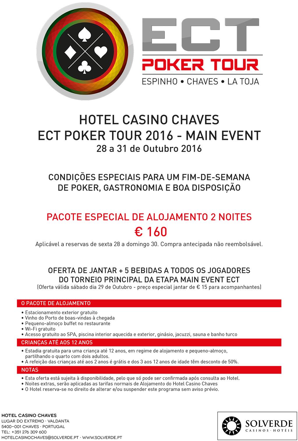 Main Event ECT Poker Tour - 28 a 31 de Outubro em Chaves Já com €6.580 no Prize Pool 102