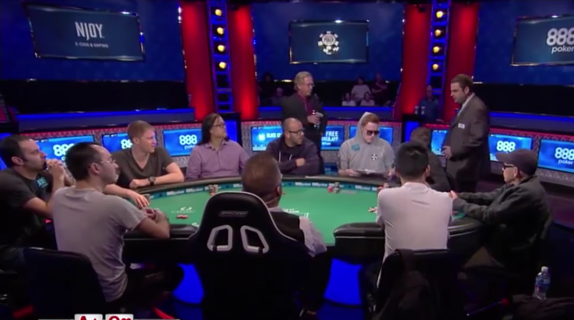 What Do the Rules Say About Using a Push/Fold Chart at the World Series of Poker? 101