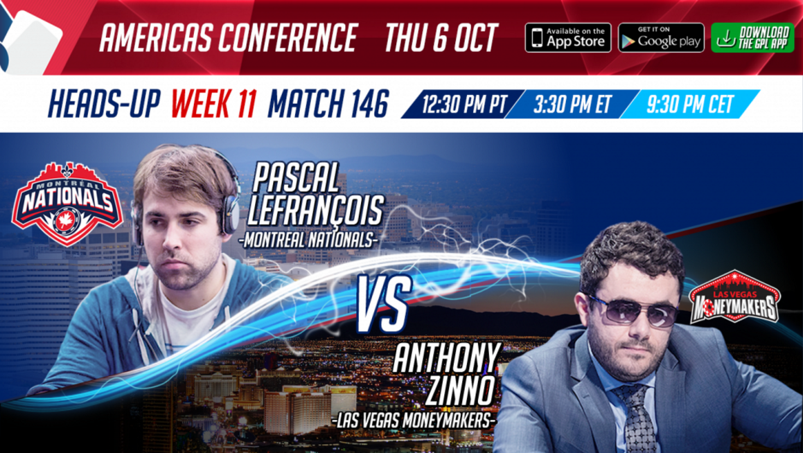 GPL Week 11 heads-up match Pascal Lefrancois vs. Anthony Zinno