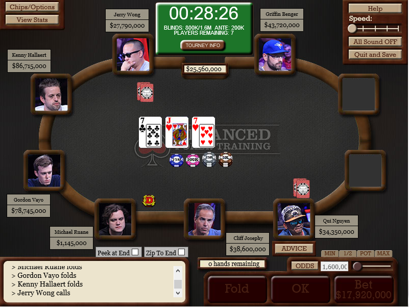 Simulating The November Nine Recap: Predicting a 2016 WSOP Main Event Winner 101
