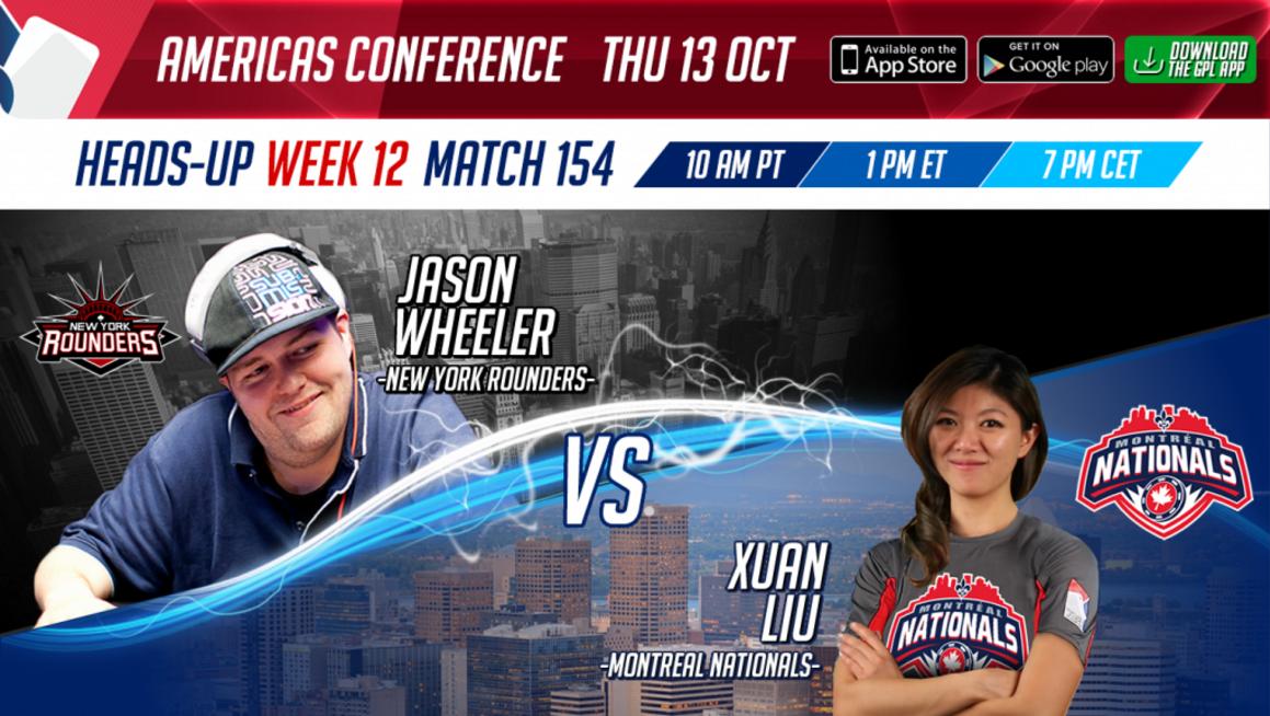GPL Week 12 Jason Wheeler vs Xuan Liu