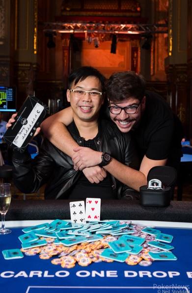 Elton Tsang Pobednik Turnira Big One For One Drop Extravaganza za €11,111,111 103