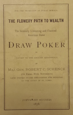 Poker & Pop Culture: The Congressman Who Accidentally Wrote a Poker Book 101