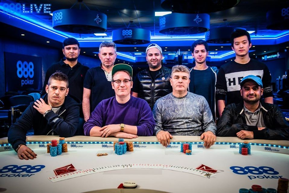 Final Table line up