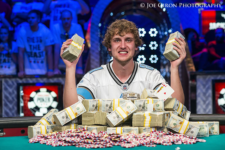 2013 WSOP Main Event Champion Ryan Riess