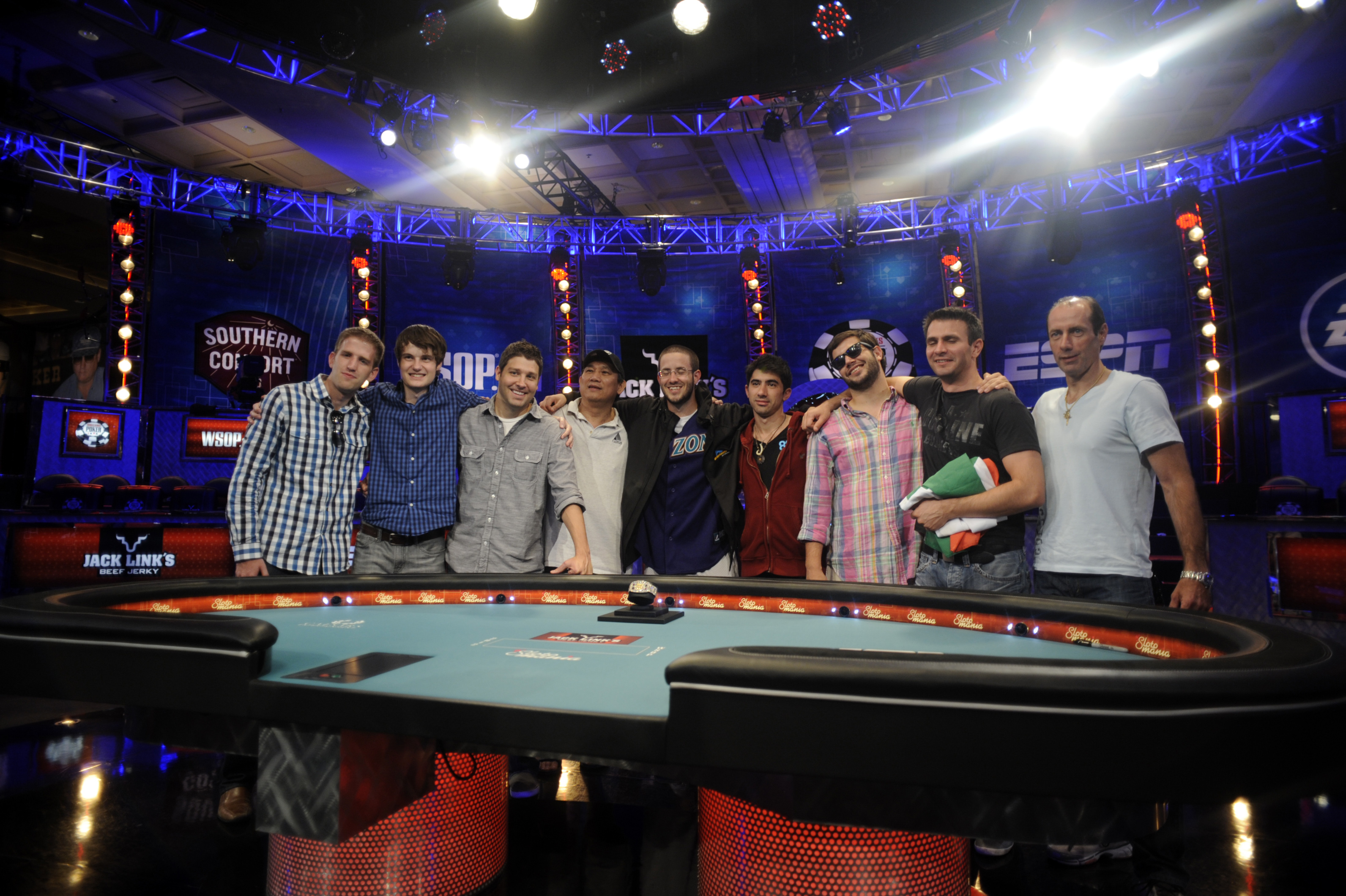 2012 WSOP Main Event Final Table Octo-Nine