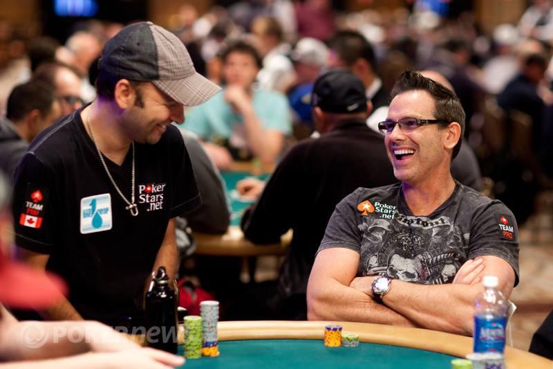 Daniel Negreanu and Chad Brown