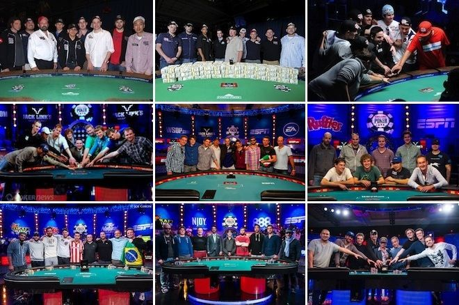 November Nine final tables