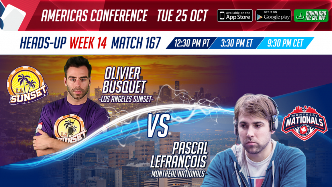 GPL Week 12 Olivier Busquet vs. Pascal Lefrancois