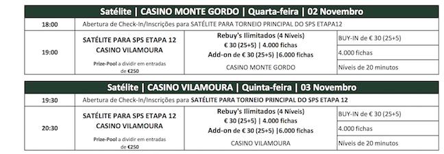 Satélites Etapa #12 Solverde Poker Season: Monte Gordo (2 Nov.) e Vilamoura (3 Nov.) 101