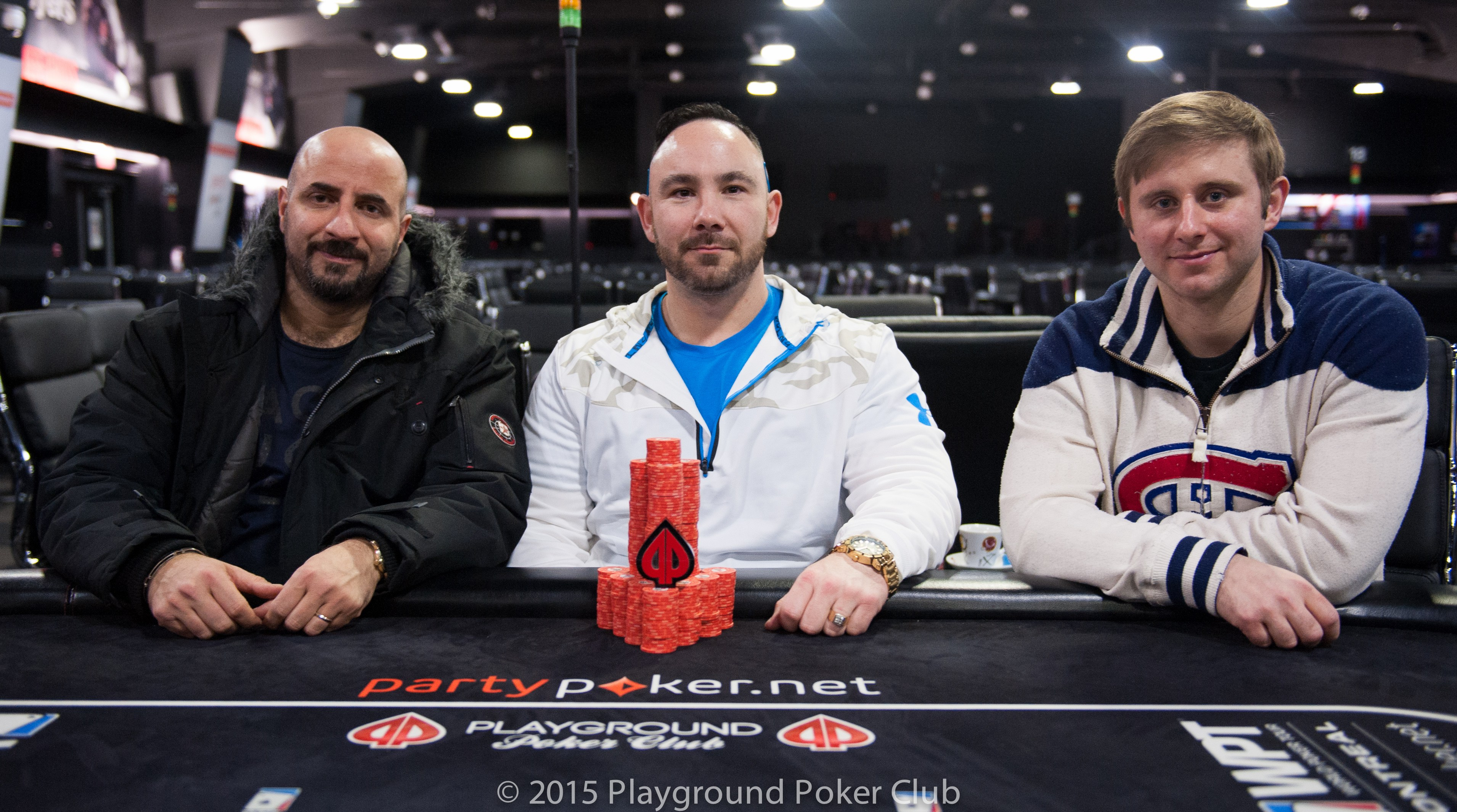 Fadi Haddad Takes Chip Lead into Day 2 of The Wild 0 at the Playground Poker Club Fall... 101