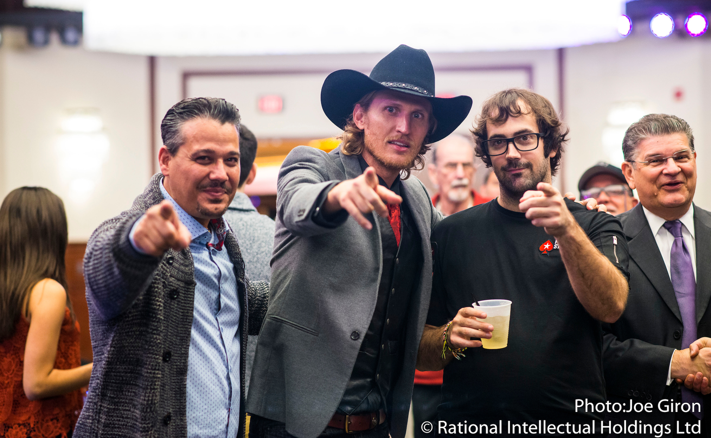 'Survivor' Star Tyson Apostol Runs It Up at PokerStars Festival NJ 101