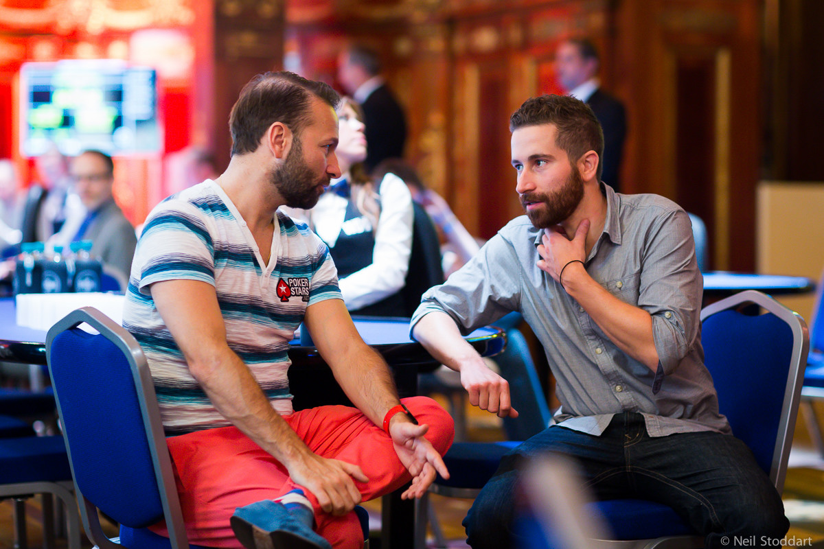 Coaches Daniel Negreanu and Jonathan Duhamel