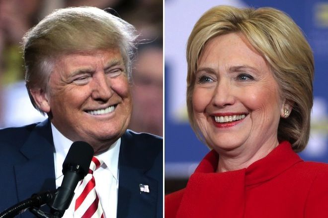 Donald Trump e Hillary Clinton