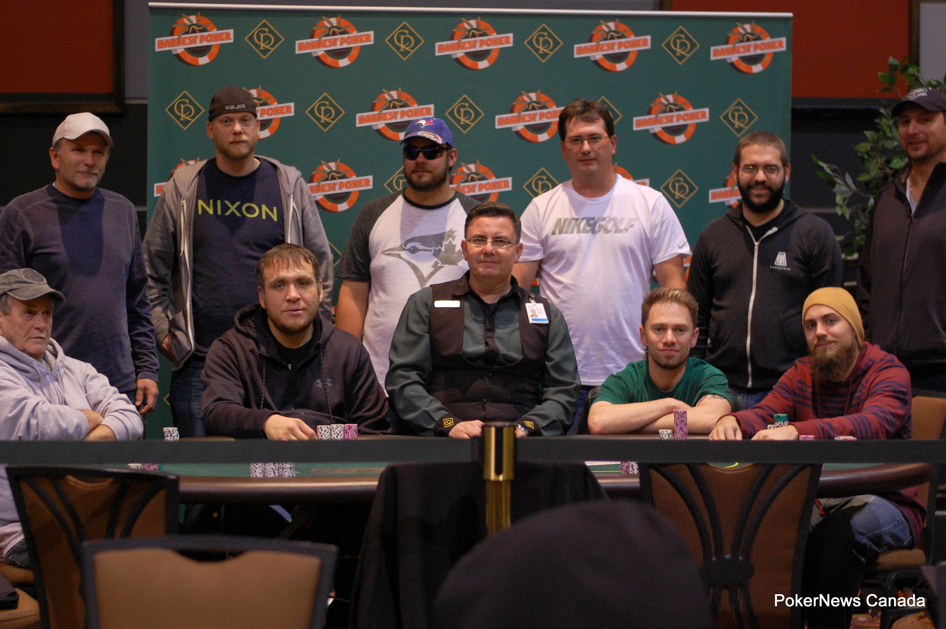 Harvest Poker Classic Casino Regina final table