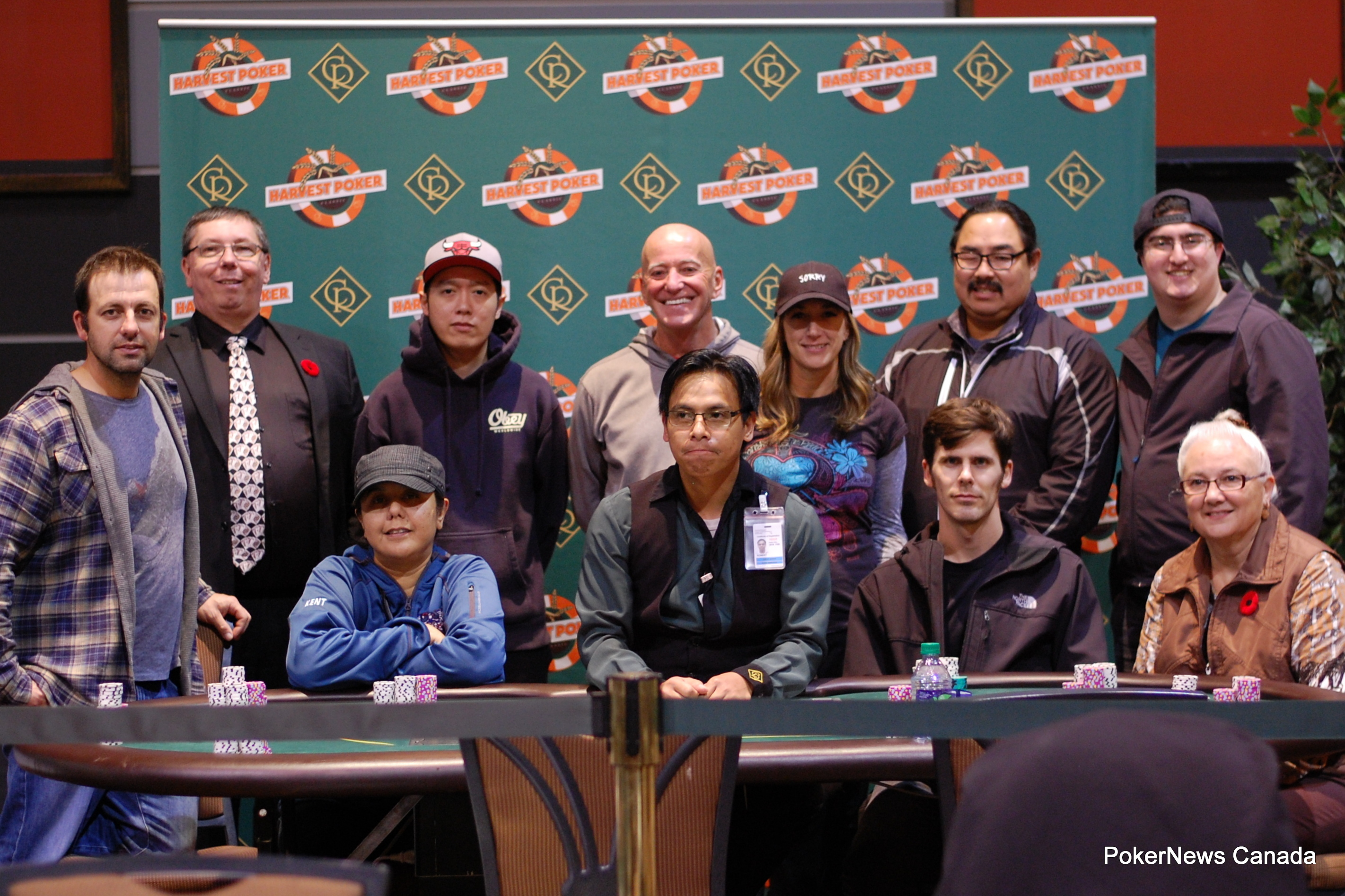 Harvest Poker Classic Casino Regina Event 2 final table