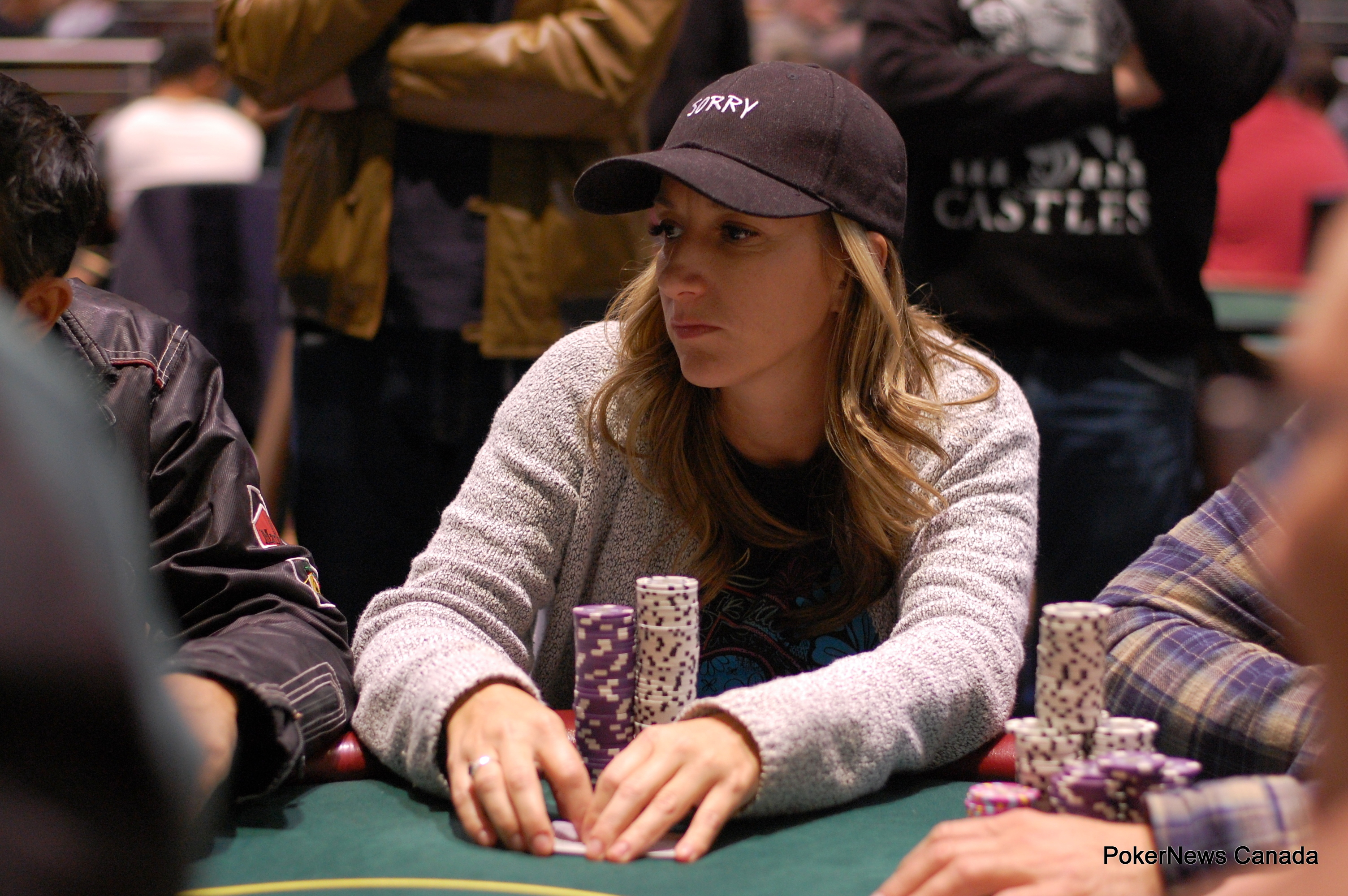Cindy Kerslake Casino Regina Harvest Poker Classic Event 2