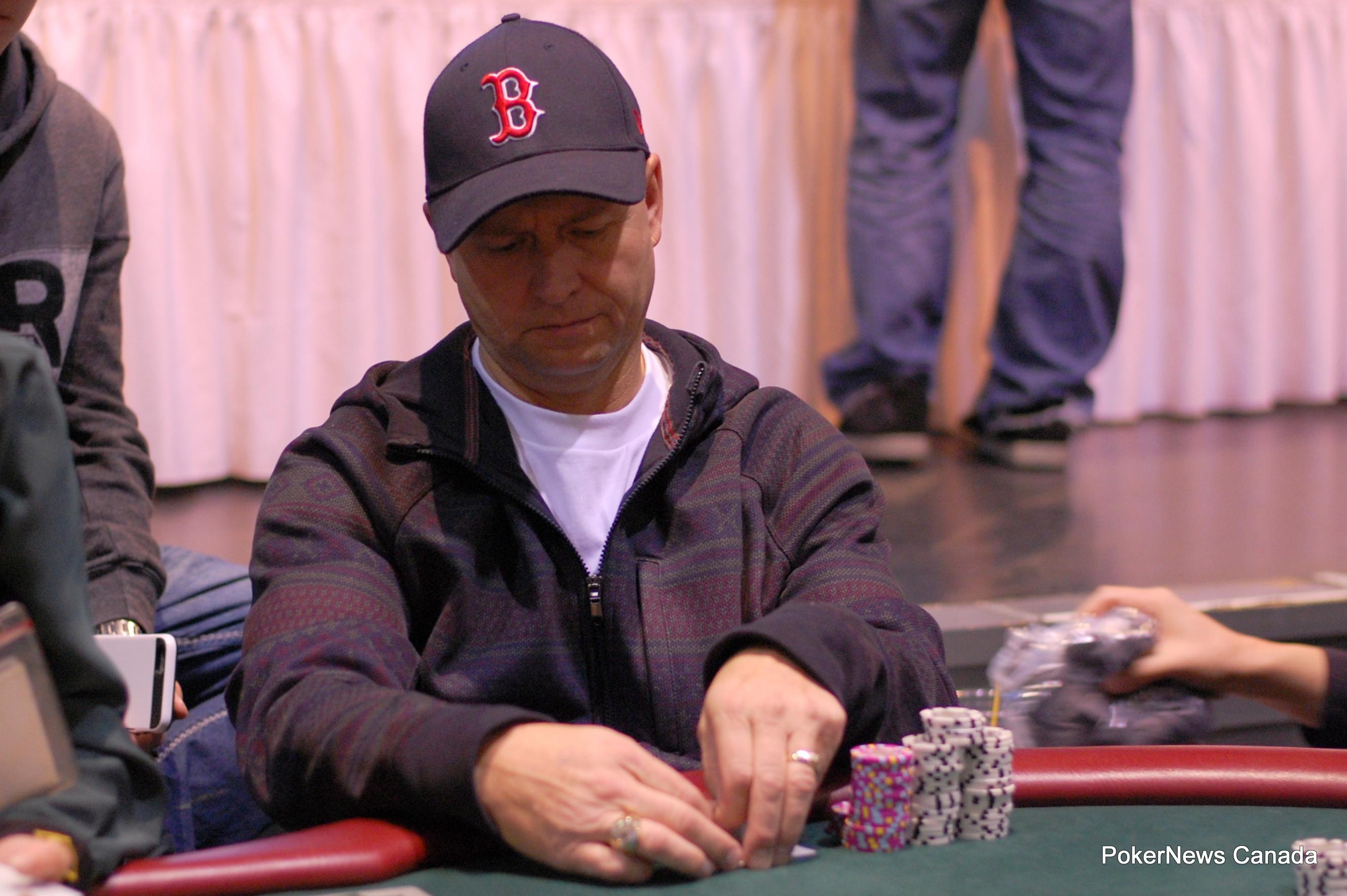Daniel Lamb Casino Regina Harvest Poker Classic
