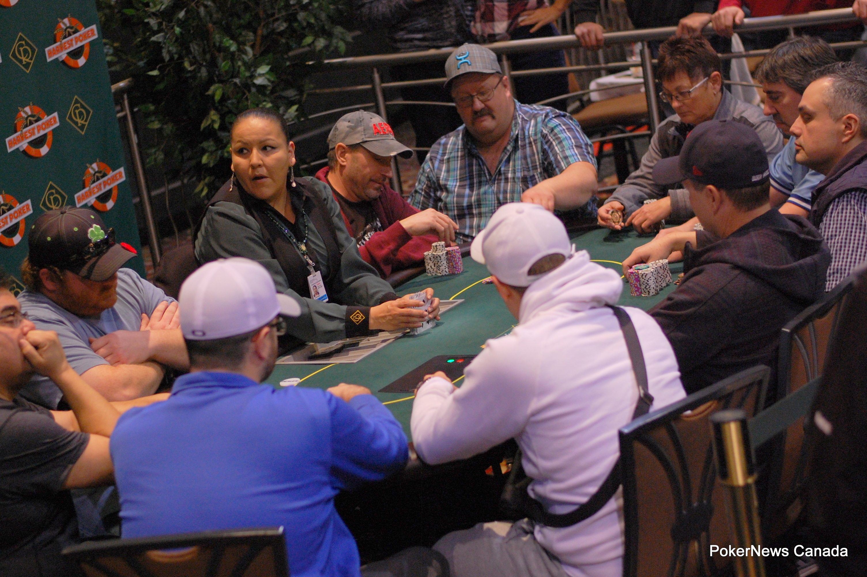 2016 Harvest Poker Classic Casino Regina Event 3 final table